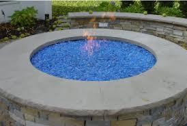 Fire Pit Glass Rocks by Fire Pit Artistic Gas Fire Pit Glass Design Fireplace Glass