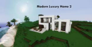 modern luxury houses 2 minecraft project