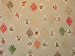 50s Design Vintage Wallpaper For Your 50s Kitchen And Bath Another Source