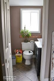 Installing A Basement Toilet by How To Install A Pedestal Sink Without Wall Studsfunky Junk Interiors