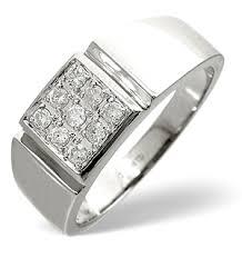 mens rings uk mens ring 0 33ct diamond 9k white gold the diamond store rings