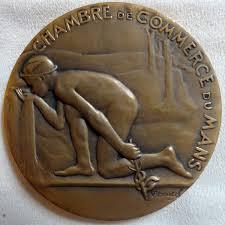 chambre de commerce le mans médaille de la chambre de commerce du mans