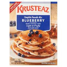 krusteaz complete pancake mix blueberry 28 0 oz walmart com
