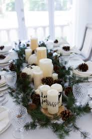 diy this thanksgiving garland u0026 candle centerpiece