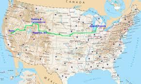 Wisconsin Usa Map Usa Map And Of Yellowstone World Maps