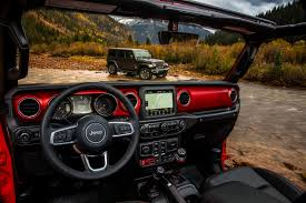 First Official Image Of The Jl Wrangler Interior Looking Sharp
