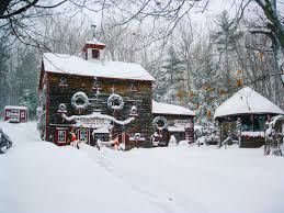 oakwood farm christmas barn is a magical holiday store in