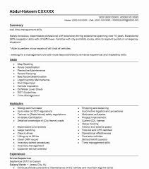 exle of a resume summary 686 waste and recycling resume exles transportation and