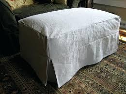 slipcover for oversized chair oversized ottoman covers best ottoman slipcover images on ottoman