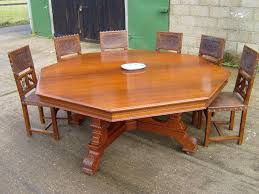 round dining table with leaf seats 8 round dining tables for 8 round table huge 6ft victorian