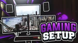 ultimate gaming setup tour 2017 youtube
