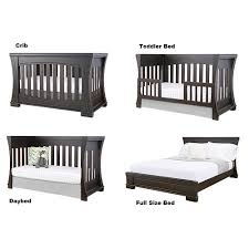 Crib Bed Convertible Eco Chic Baby Dorchester Classic Island 4 In 1 Convertible Crib
