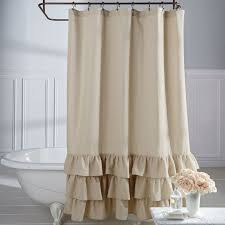 Fabric Shower Curtains With Matching Window Curtains Best 25 Ruffle Shower Curtains Ideas On Pinterest White Ruffle