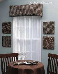 Window Cornice Kit Home Decorating Diy Make Your Own Custom Window Cornices Crafts