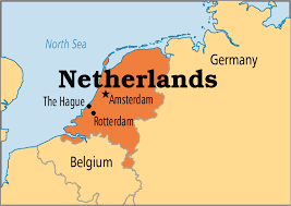 netherlands map netherlands operation world