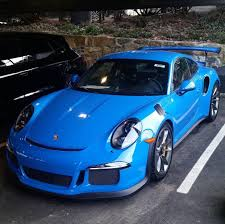 gold porsche gt3 porsche 991 gt3 rs painted in paint to sample voodoo blue photo