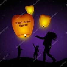 lanterns new year flying lanterns for new year stock photo adrenalina 129048282