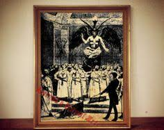 Occult Home Decor 214 Mandrake Print Witch Plant Illustration Mandragora Poster