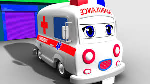 color vehicles learn colors with 3d street vehicles cartoon