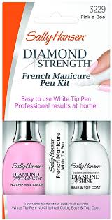 amazon com sally hansen diamond strength french manicure pen kit