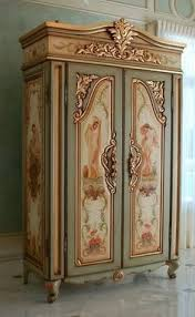 Cottage Bedroom Furniture by Painted Cottage Chic Shabby Romantic Bedroom Armoire Wardrobe