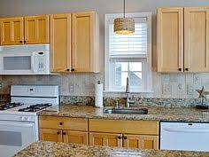 Oak Cabinets In Kitchen by Kitchen Ideas Decorating With White Appliances Painted