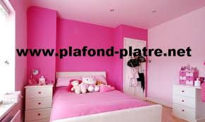 chambres pour filles chambre des filles décoration plafond moderne plafond platre