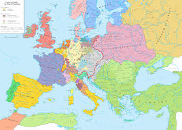 Dia Map Europe After The End Of The Thirty Years U0027 War 1648 Vivid Maps