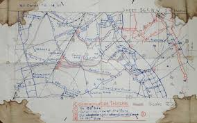 Ww1 Map File Battle Of The Hohenzollern Redoubt Trench Map Jpg Wikipedia