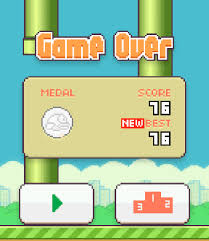 flappy birds apk what s your flappy bird high score it here can you beat it
