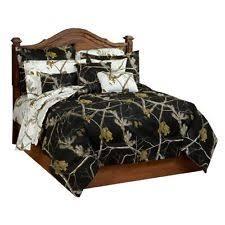 Twin Camo Bedding Realtree Camo Comforter Set 0717480098blk Size Queen Color Black