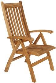 gloster ventura reclining armchair authenteak