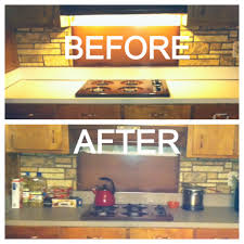 granite contact paper countertops before u0026 after in a rental