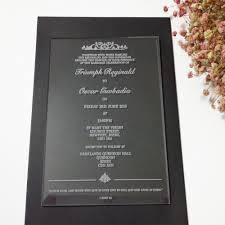 Customized Wedding Invitation Cards Online Get Cheap Wedding Acrylic Invitation Aliexpress Com