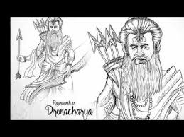 s s rajamouli mahabharata characters imaginery sketches youtube