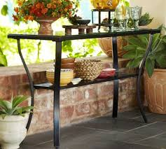 Patio Buffet Table Outdoor Console Tables Or Buffets Your Collection Patio Console