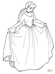 cinderella coloring pages free coloring pages