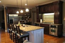 how to restain wood cabinets darker restaining cabinets beautiful tourism
