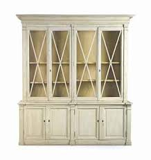 a french provincial white painted bookcase objects and furniture