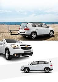 chevrolet orlando multi purpose 7 seat car for families