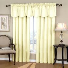 curtain curtains with attached valance double swag fabric shower