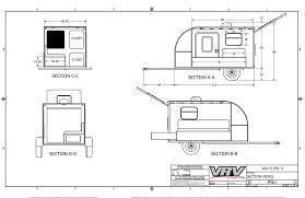 vrv flyer teardrop camper lightweight durable and functional