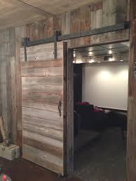 Rustic Barn Door Hardware by Home Design Rustic Interior Barn Door Architects Home Services