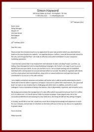 examples of job cover letters for resumes entry level housekeeper