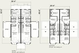 Modular Duplex Floor Plans by Modular Homes Coolidge Duplex Blueprint