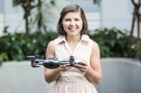 the drone reporting on drones sometimes with drones