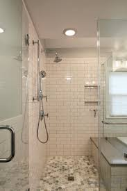 Showers Without Glass Doors Bathroom Showers Without Doors Or Curtains Doorless Shower