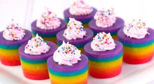 double rainbow cake jello shot recipe rainbow cakes jello and