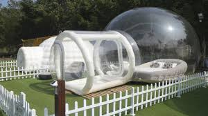 Bubble Tent Igloo Tent Bouncy Castle Camp In Luxury At Yuen Long Farm Post