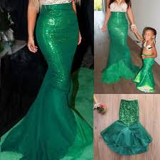 fancy maxi dresses hot women kids mermaid costume fancy party maxi